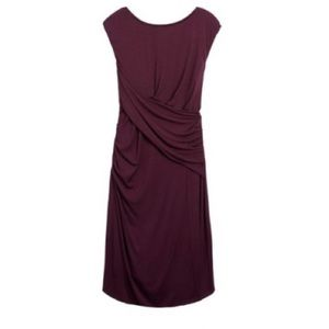 Kut from the Kloth Purple Body Con Dress Size 6